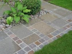 Porphyrpflaster Gartengestaltung Weinheim
