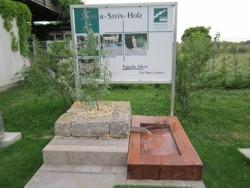 Mustergärten Heddesheim, Garten- und Landschaftsbau, Gartenstaltung, Wasserbecken