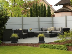 Garten Gartengestaltung Eingang Ausführung Sichtschutz
