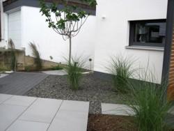 Garten Gartengestaltung Eingang Ausführung Vorgarten