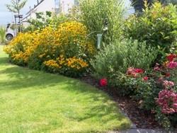 Garten Hausgarten Bepflanzung Gartenanlage Gartenplanung