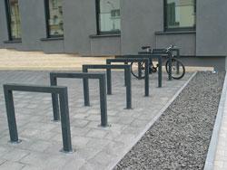 Detail Fahrrad Abstellplatz