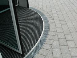Detail Drehkreuz Eingang