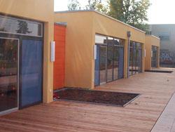 Gewerbliche Außenanlage Kindergarten Terrasse