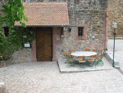 Öffentlicher Raum historisch Innenhof