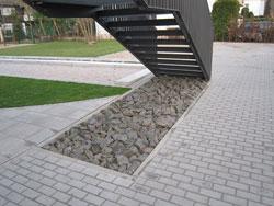 Außenanlage öffentlich Treppe