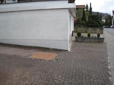 Hofeinfahrt, Garagevorplatz Stellplatz Vorgarten