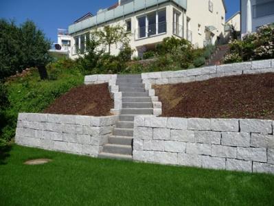Hangverbau Trockenmauer