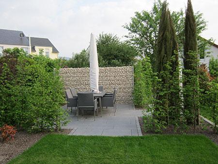 Gartenumgestaltung Sitzplatz Garten