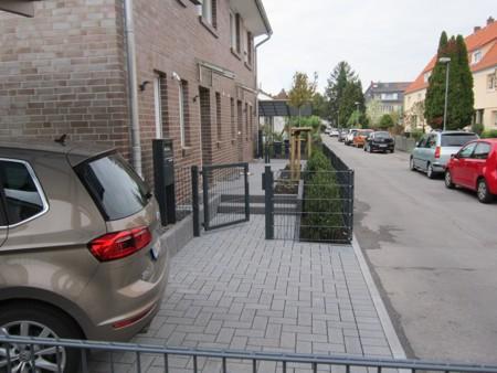 Vorgarten Eingang Ausführung Gestaltung Garten