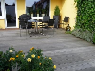 Holzterrasse Terrasse Holz Garten